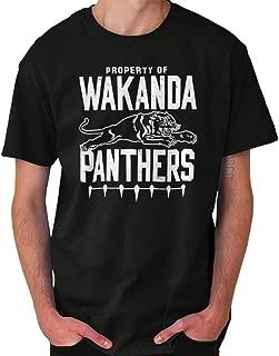 Wakanda Africa Superhero Hero Comic Nerd Crewneck Sweatshirt