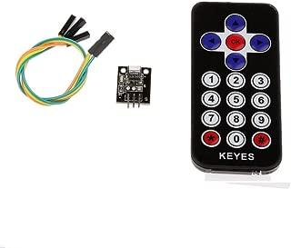 WINGONEER Arduinoのための新しいスタイルの赤外線IRワイヤレスリモートコントロールセンサーモジュールキット