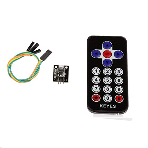 WINGONEER New Style Infrared IR Wireless Remote Control Sensor Module Kits for Arduino