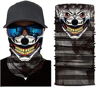 MITCOWBOYS Multifunctional Face Covering Outdoor Bandanas Motorcycle Neck Tube Cycling Biker Scarf Headwear
