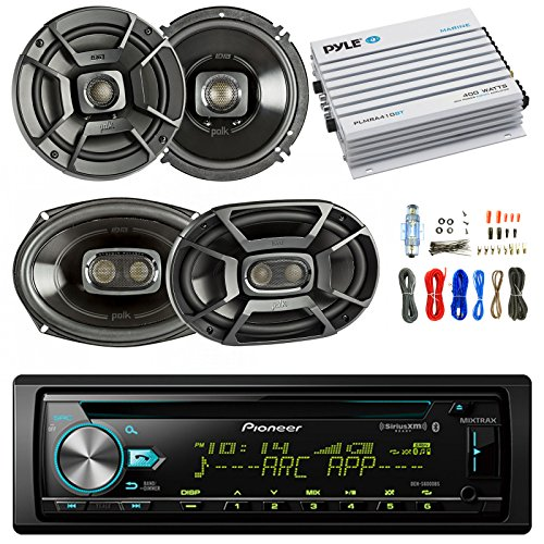 Find Bargain Pioneer DEH-S6000BS Car Bluetooth Radio USB AUX CD Player Receiver - Bundle Combo with ...