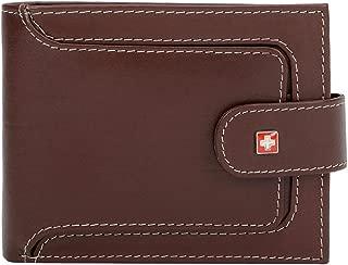Swiss Military Brown Men's Wallet (LW40))