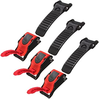 Helmet Clip Chin Strap Buckle,Quick Release Disconnect Pull Clip Buckle Replacement for Motorcycle Bike ATV Helmet