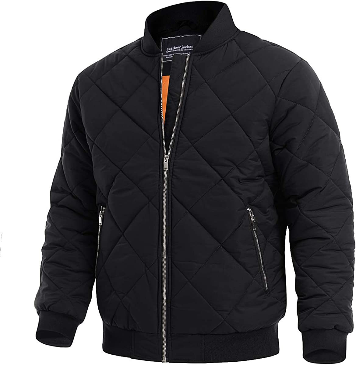 TACVASEN New item Men's Jackets Winter Padded Discount is also underway Athletic Casual Win Outwear