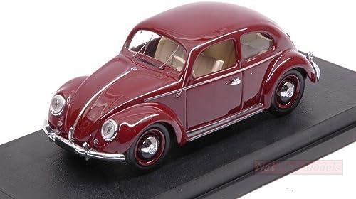 artículos novedosos Rio RI4565 VW MAGGIOLINO MAGGIOLINO MAGGIOLINO 1200 DE Luxe 1953 rojo Bordeaux 1 43 MODELLINO Die Cast Compatible con  el estilo clásico