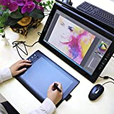 Zoom IMG-1 gaomon m106k professionale tavoletta grafica