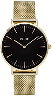 CLUSE Womens Analogue Classic Quartz Connected Wrist Watch with Stainless Steel Strap CL18110
