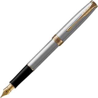 派克 索尼特 钢笔 中笔尖 約146mmx9mm 不锈钢GT
