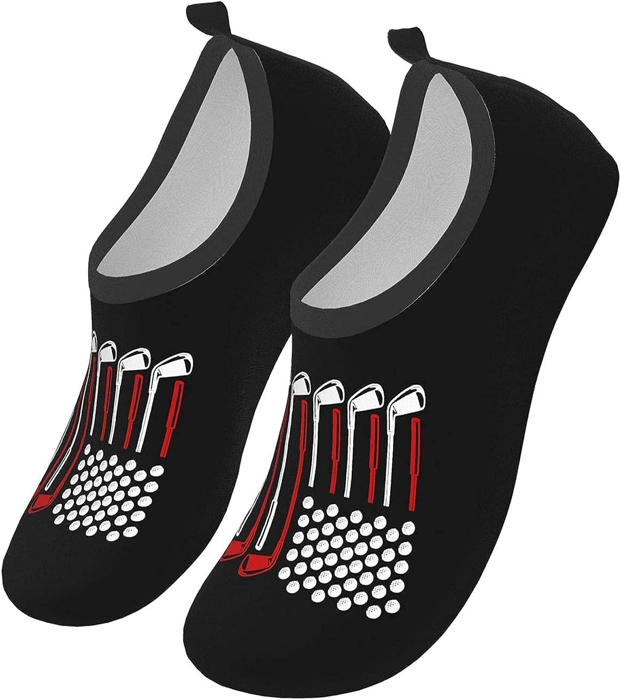Heartbeat Pulse Line with BMX Stuntman Water Sports Shoes Barefoot Quick-Dry Aqua Yoga Socks for Men Women