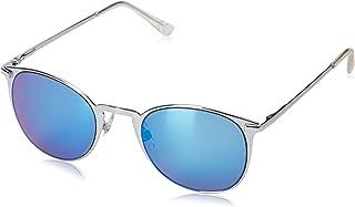 نظارات شمسية نسائية من Foster Grant مطبوع عليها Hailey Mrf بلون فضي/أزرق ثلجي، مقاس 51.6 مم US