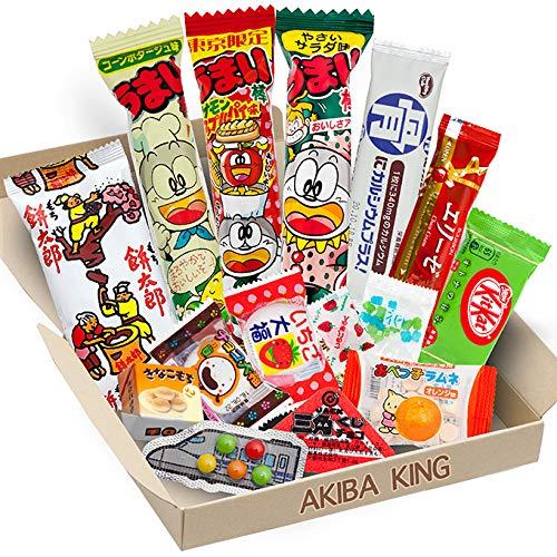 AKIBA KING japanische süssigkeiten süßigkeiten box Vegetarische Snacks Imbiss kit kat Schokoladen Geschenk Japan