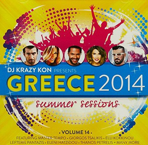 DJ KRAZY KON - Greece 2014 (1 CD)