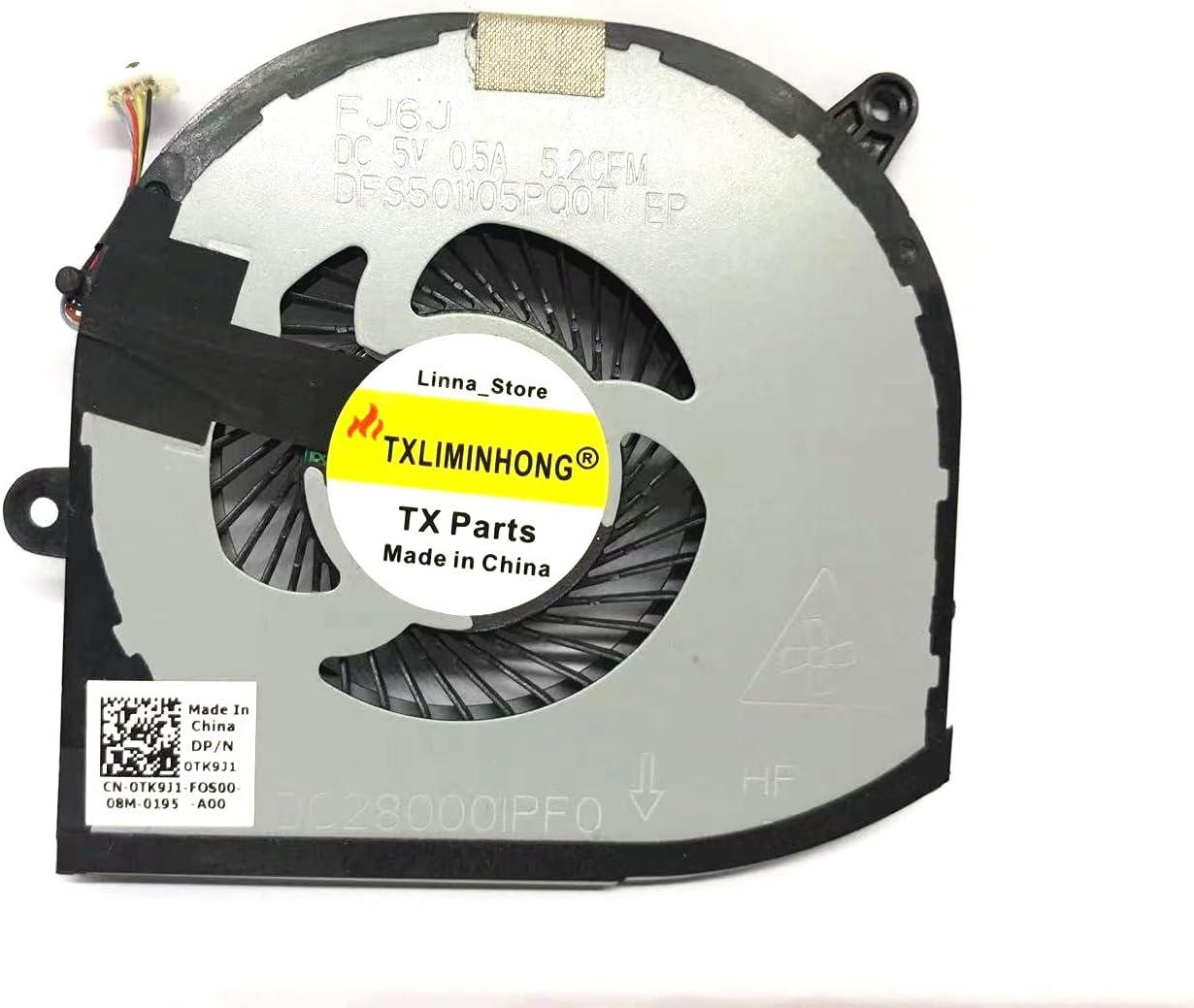 Fan for Dell XPS 15 9570 XPS 15 9560 Right Side Cooling Fan DP/N ...