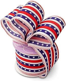Stars and Stripes Patriotic Ribbon - 2 1/2
