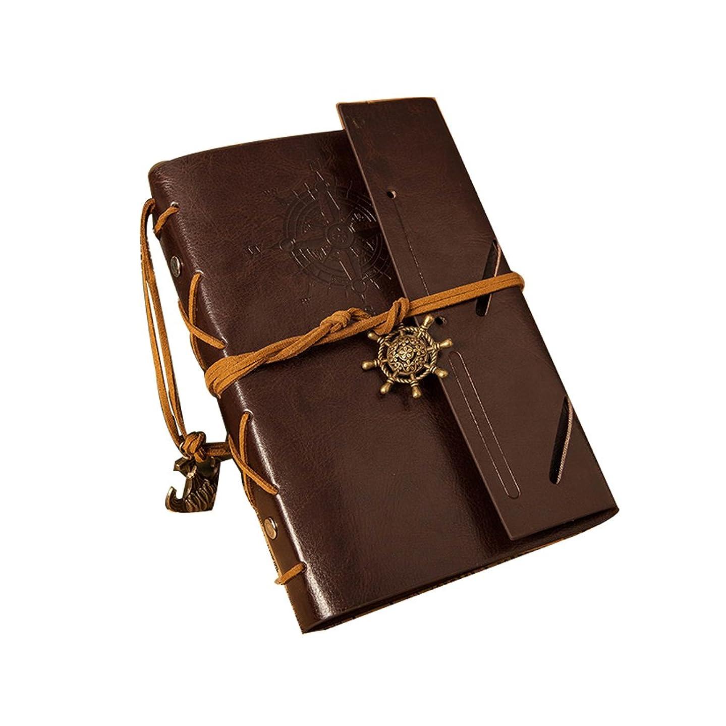 のために知覚的放棄するNUOLUX スケッチブック ルーズリーフ式ノート 復古ノート