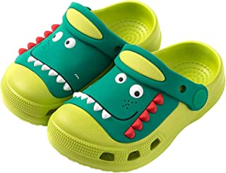 Zuecos para Unisex Niños Clogs Kids Respirable Playa Piscina Sandalia Zapatos de Jardín Antideslizante Zapatillas Chanclas...