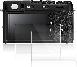 FUJIFILM X100F / X100T 専用 ガラスフィルム AFUNTA 液晶保護フィルム 富士 X100Fカメラ 用 液晶フィルム 9H高硬度 極薄 防塵 2枚入り