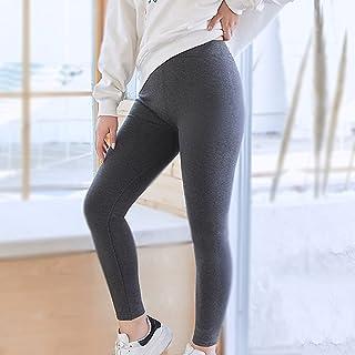 Leggings Kvinnor vinter, Dam Hög midja mage kontroll rumpa lyft Bomull Leggings, Tight Thin fleece Warm Stretchy Plus Size...