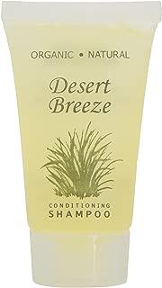 Desert Breeze Shampoo, Travel Size Hotel Amenities, 1 oz (Case of 300)