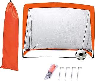 6/' Portable Pop Up football but filets avec Printemps cadre en acier /& Sac de transport