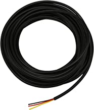 20AWG UL2464 Power Cable LED Red & Black & Yellow 3 Conductors (2464-20AWG-3C- 25ft)