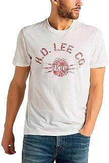 Lee Stencil tee Camiseta para Hombre