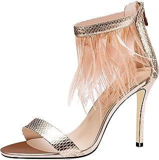 costo real WANGXIAOLIN Sandalias Nuevas Zapatos De Moda Moda Moda Con Borlas Con Palabra De Hebilla Sandalias Finas Sandalias De Tacón Con Sandalias De Cuero (Tamao   37)  ahorra hasta un 70%