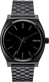 NIXON Time Teller A046 - All Black - 101M Water Resistant...