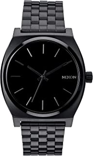 NIXON Time Teller A046 - All Black - 101M Water Resistant...