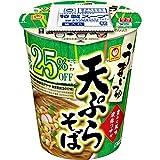 東洋水産 うまいつゆ 塩分オフ 天ぷらそば 12個