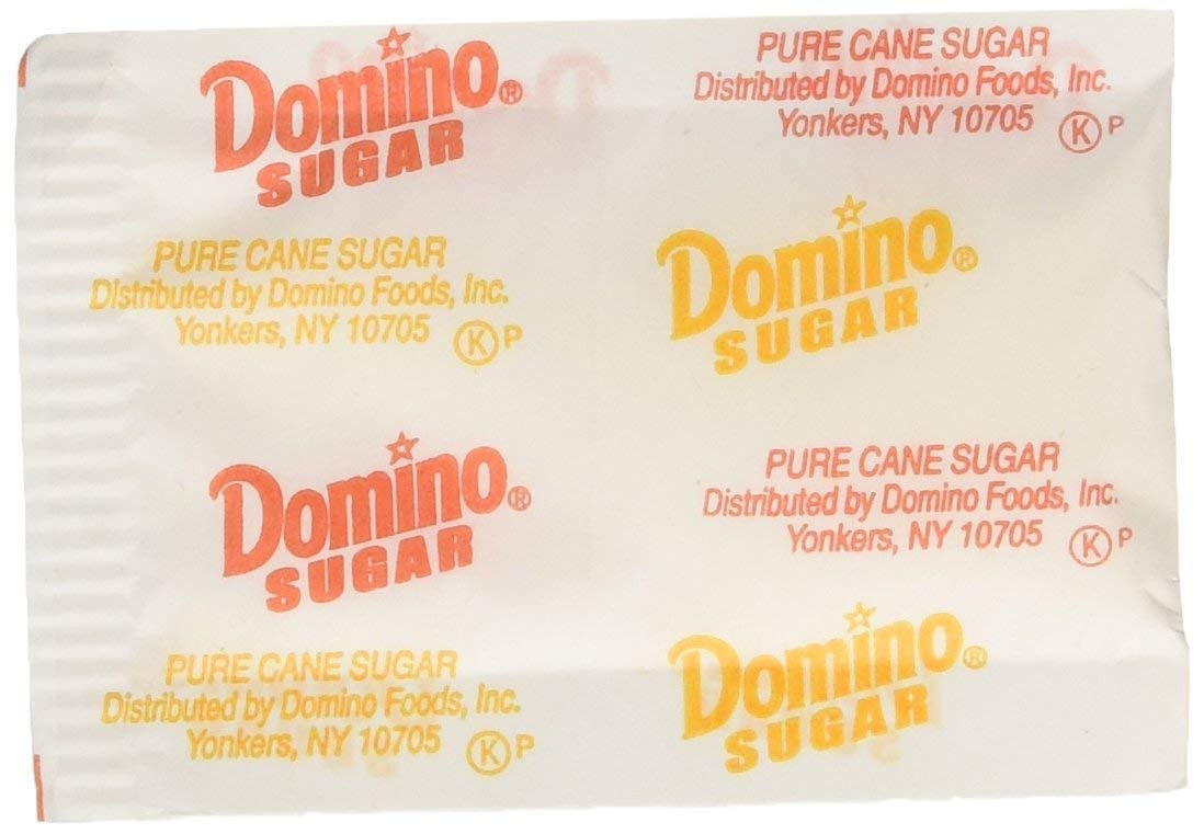 Domino Sugar Packets Excellence 2000 Long Beach Mall Restaurant count Quality