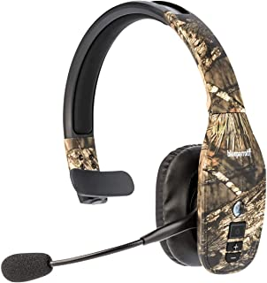 BlueParrott B450-XT Noise Canceling Bluetooth Headset with 300-FT Wireless Range for iOS and Android Devices (Mossy Oak)