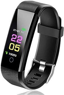 Smart Sport Watch, Reloj Inteligente Pulsómetro, Podómetro Monitores de Actividad Impermeable IP67 Reloj Deportivo, Pulsera de Actividad con Pantalla a Color TFT de 0.96 Pulgadas para Android iOS