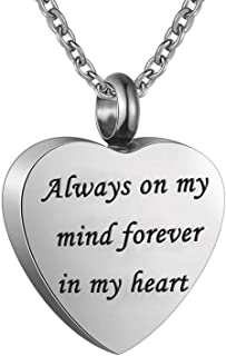 Best always in my heart necklace for ashes Reviews