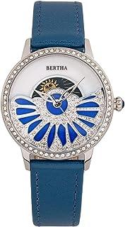 Bertha - Adaline BTHBR8200 - Reloj de cuarzo para mujer con esfera MOP