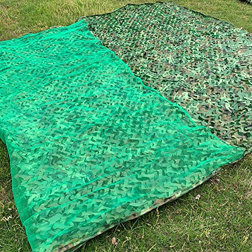 WZHIJUN DREI Etagen Urwald Tarnnetz Oxford-Stoff Draussen Camping Militär- Jagd Thema Party Dekoration Tarnen (Color : A, Size : 5×9m)