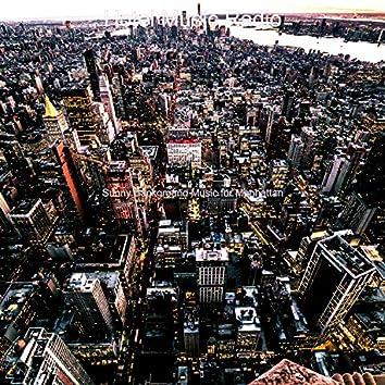 Sunny Background Music for Manhattan
