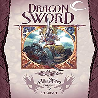 Dragon Sword audiobook cover art
