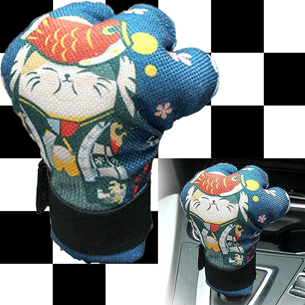 Car Cat Factory outlet Cheap mail order sales Claw Handlebar Cover Knob Co Shift Decor