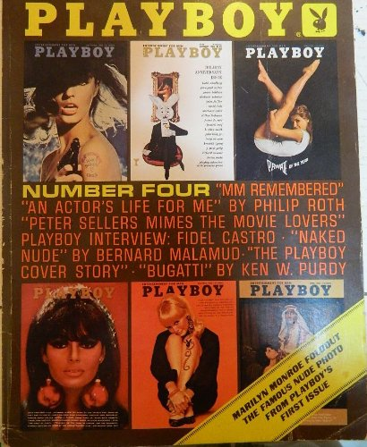 """VINTAGE PLAYBOY MAGAZINE - """"THE BEST FROM PLAYBOY"""" - FEAUTURING EXCERTS FROM VARIOUS ISSUES THROUGH THE YEARS 1959-1970. fEATURING FOLDOUT OF MARILYN MONROE FROM PLAYBOYS 1ST ISSUE."""