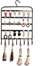 Shirleyle-HoRac Jewellery Display Stand Earring Holder Jewelry Organizer Necklace Hanger Wall Stand Rack Black Classic Display for Women Girls Gifts (Color : Black, Size : 27363.5CM)