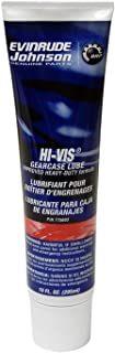 Johnson Evinrude OMC New OEM HI-VIS Lower Unit Gearcase Lube 10 oz, 0775603