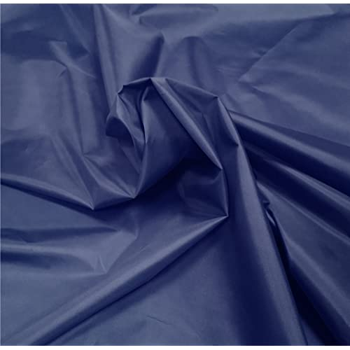 WATERPROOF HEAVY DARK BLUE CANVAS FABRIC X  2.5 MTRS