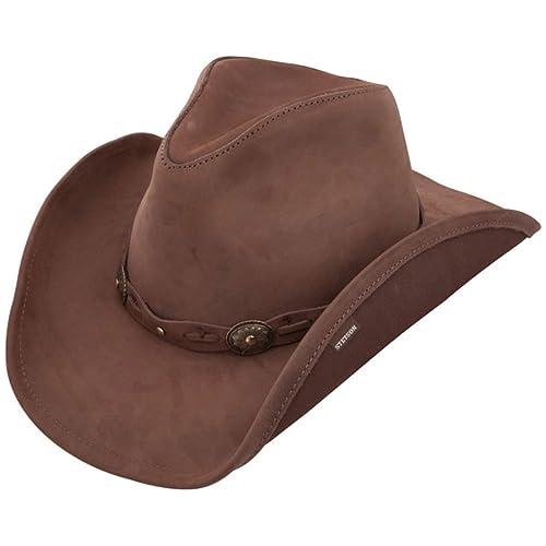 1a4bcef71d6 Stetson Roxbury - Shapeable Leather Cowboy Hat
