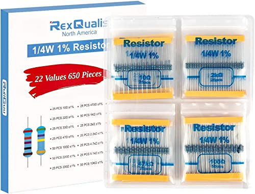 Rs 1 w Resistance 5/% 2,2 Ohm layer of coal-Pack 50 pcs