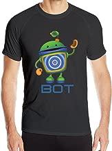 Men's Team Umizoomi Bot Sport Quick Dry Short Sleeves T-Shirt Tees