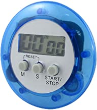 uxcell Portable Digital LCD Count Up Down Plastic Timer Alarm