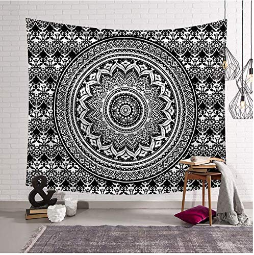 Mandala Tapisserie Zeltzelt Reise Matratze Schlafunterlage Sandy Beach Throw Rug 150 x 200 cm
