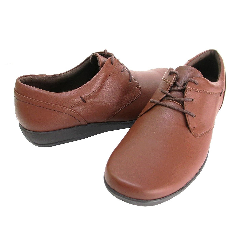 治すコットン転倒[アシックス] ペダラ pedala WP860R レディース 革靴 カジュアル ウォーキングシューズ コンフォート 紐靴 レースアップ 旅行靴 日本製