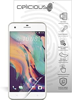 Celicious Matte Anti-Glare Screen Protector Film Compatible with HTC Desire 10 Lifestyle [Pack of 2]